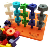 peg board therapy toys montessori materials