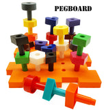 occupational therapy special needs toys peg board kids