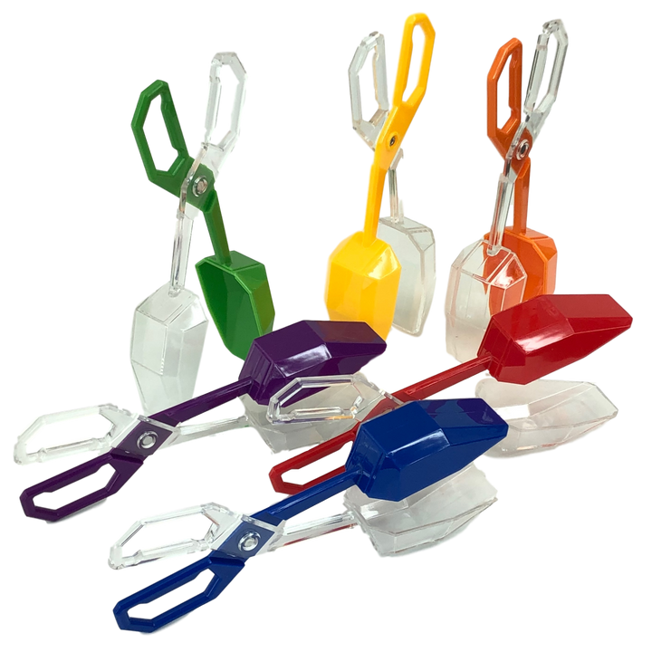 Skoolzy Fine Motor Skills Toys - Rainbow Color Sorting for Toddlers Scissor Tongs<p><font><small><b>SK-067</small>