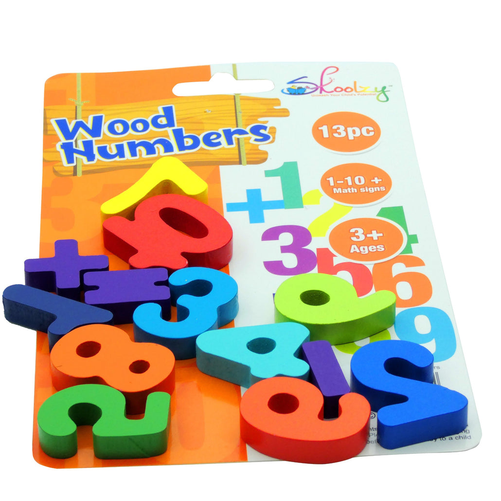 Rainbow Wooden Number Puzzle for Kids Age 3 4 5 Year Old<p><font><small>SK-047</small></font></p>