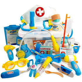 Doctor Kit for Kids with Xray - 29 pc Dr Playset with Realistic Sound Effects<p><font><small><b>SK-046</small>