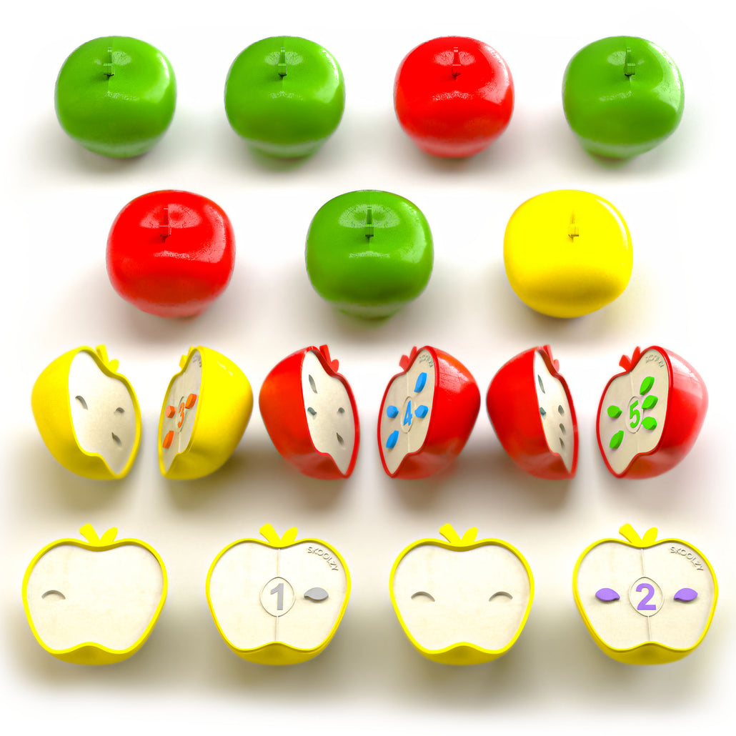 Learning Games - Number Puzzles for Toddlers<p><font><small><b>SK-043</small>