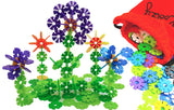 preschool creative building toys - rainbow flakes