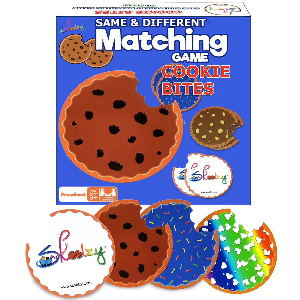 Cookie Memory Game Bites - Toddler Stocking Stuffers for Kids 3 Years Old and Up<p><font><small><b>SK-061</small>
