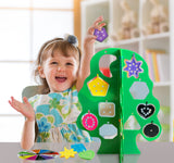 Skoolzy Learning and Counting Toy Set - Monkey Tree Building Kit<p><font><small><b>SK-066