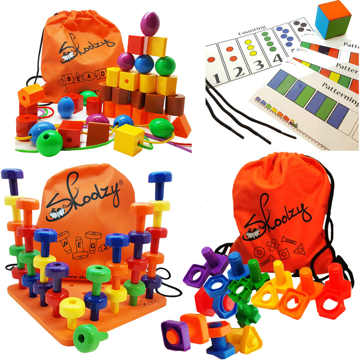 Skoolzy Toddler Deluxe Kit