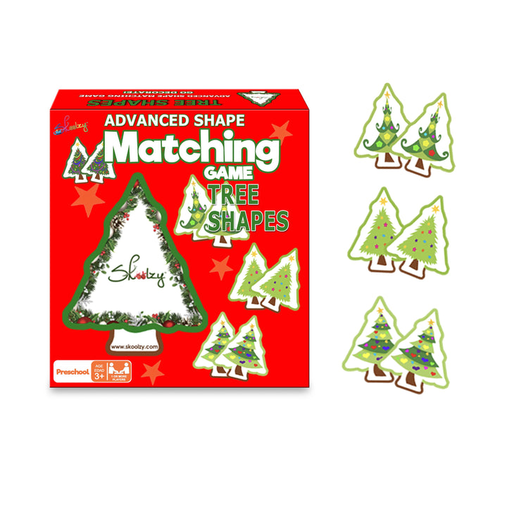 tree memory matching game