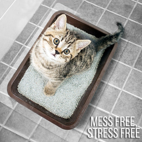 Cat litter box liner from ClearSpace by ExactMats