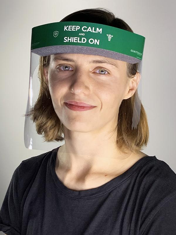 PPE: Reusable Face Shield