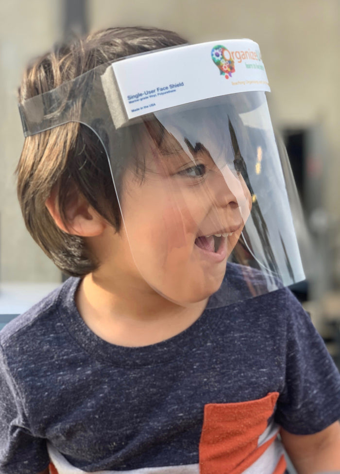 PPE: Reusable Face Shield - Kid Size