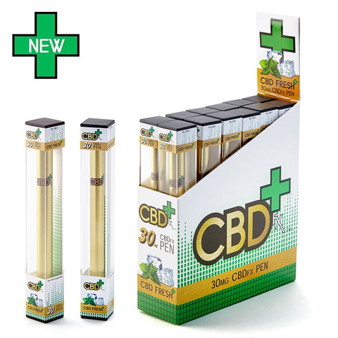 CBDfx Fresh Mint Disposable ePen