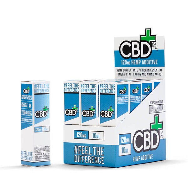 CBD Oil 120 mg - 12 pack refill
