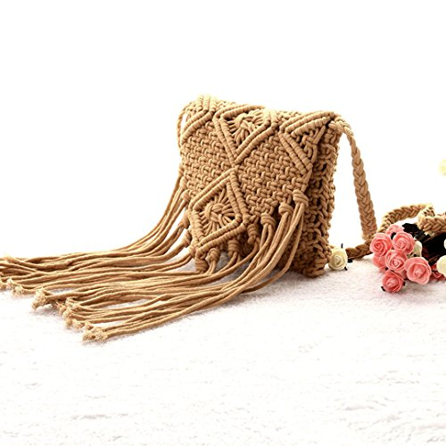 Handmade Bohemian Crochet Beach Bag