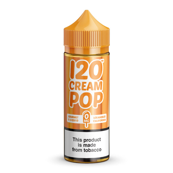 120 CREAM POP - 0mg.