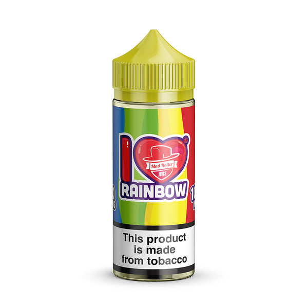 I LOVE CANDY RAINBOW E-JUICE - 0mg.