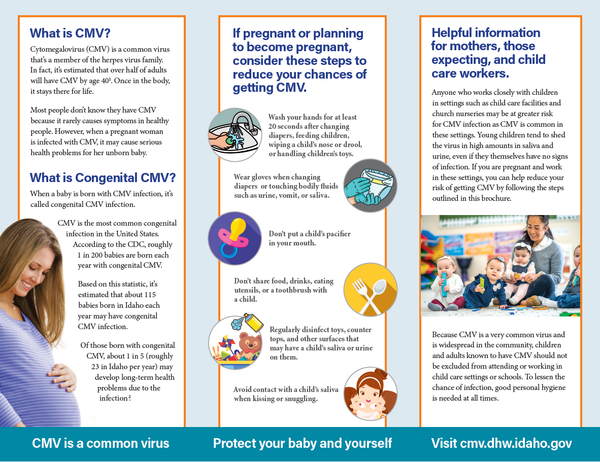CMV (Cytomegalovirus) General Brochure
