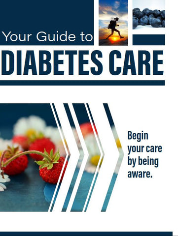 Diabetes Care Card - Ships in Packages of 25, Max 4 Per Order