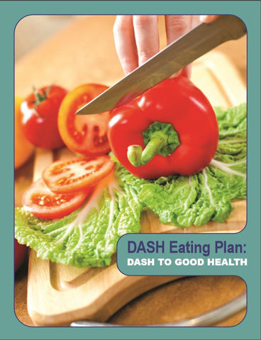 DASH to Good Health Brochure- Ships in Packages of 25, Max 4 Per Order