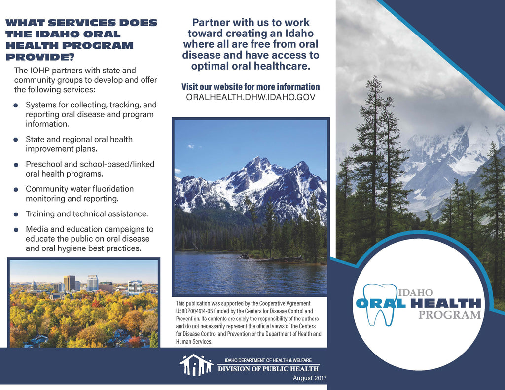 Idaho Oral Health Program Brochure