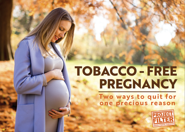 Project Filter Tobacco Free Pregnancy Information Card - Pregnant Woman