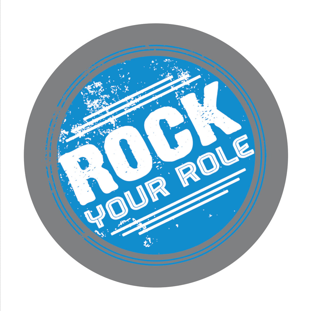 """Rock Your Role"" Suicide Prevention Coaster"