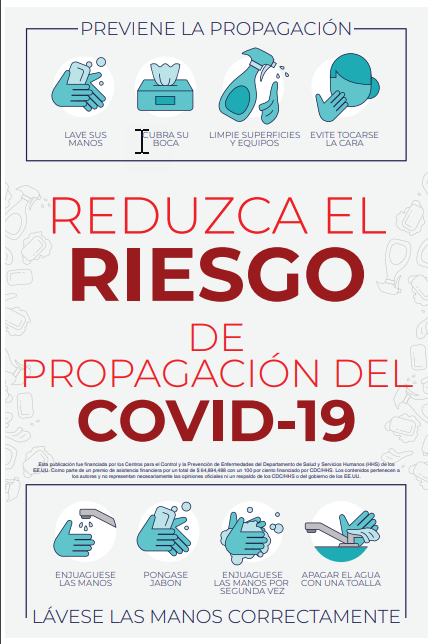 Reduce Your Risk Poster - Spanish - PDF