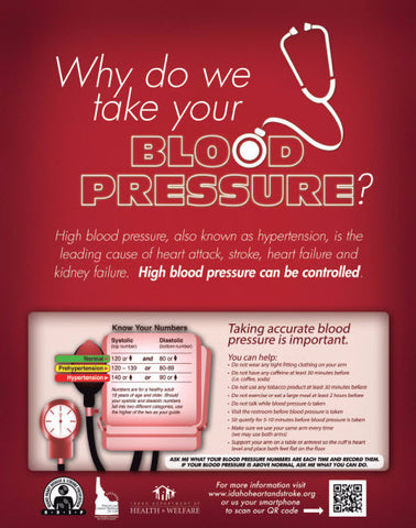 Why Do We Take Your Blood Pressure?