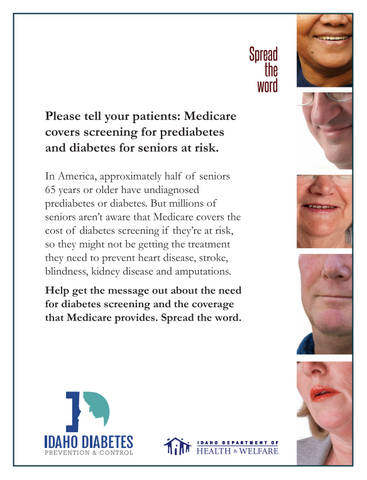 Spread the Word - For Healthcare Professionals Flyers (8.5 x 11) - Ships in Packages of 25, Max 4 Per Order
