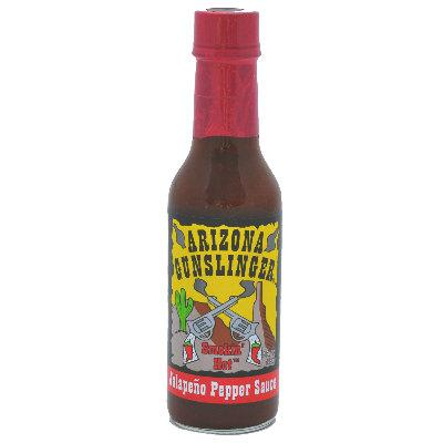 Arizona Gunslinger RED JALAPENO Hot Pepper Sauce