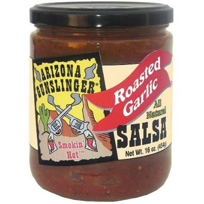 ARIZONA GUNSLINGER, ROASTED GARLIC Salsa