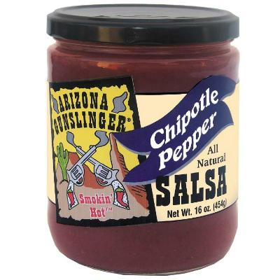 ARIZONA GUNSLINGER, CHIPOTLE PEPPER Salsa