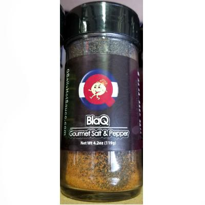 Qball's BLAQ - Exotic Salt & Super-Hot Pepper