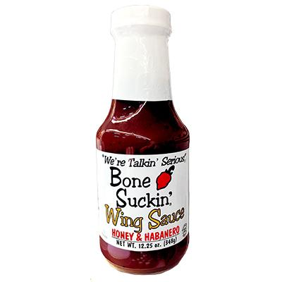 BONE SUCKIN'HONEY HABANERO WING SAUCE