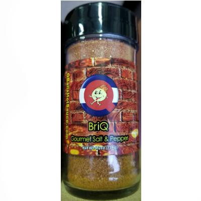 Qball's BRIQ - Exotic Salt & Super-Hot Pepper