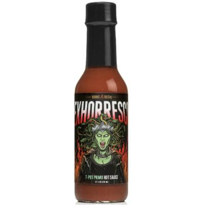 Burns & McCoy EXHORRESCO 7 Pot Primo (AKA OSCAR) Hot Sauce