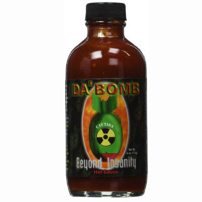 Da'Bomb Beyond Insanity Hot Sauce