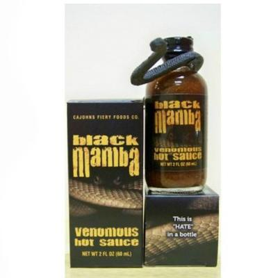 CaJohn's BLACK MAMBA Extract Hot Sauce