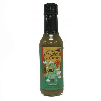 CaJohn's SIR FARTSALOT Hot Sauce