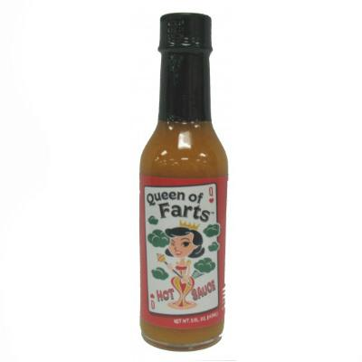 CaJohn's QUEEN OF FARTS Hot Sauce