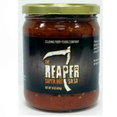 CaJohn's THE REAPER Super Hot Salsa