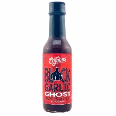 CAJOHN'S, BLACK GARLIC GHOST Hot Sauce