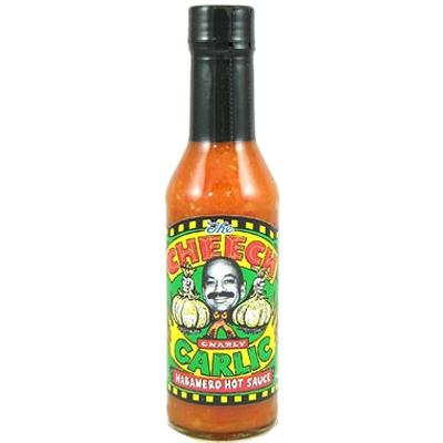 THE CHEECH, GNARLY Garlic Habanero Hot Sauce