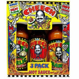THE CHEECH, HOT SAUCE 3-PACK GIFT BOX