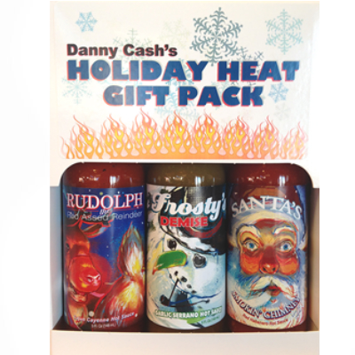 Danny Cash's NICE HOLIDAY HEAT Gift Pack