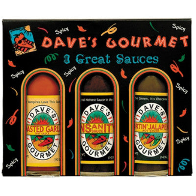 Dave's Gourmet 3-Pack