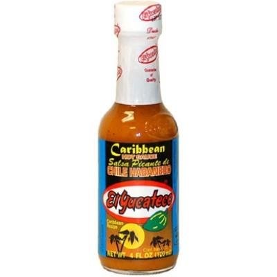 EL YUCATECO, CARIBBEAN Hot Sauce