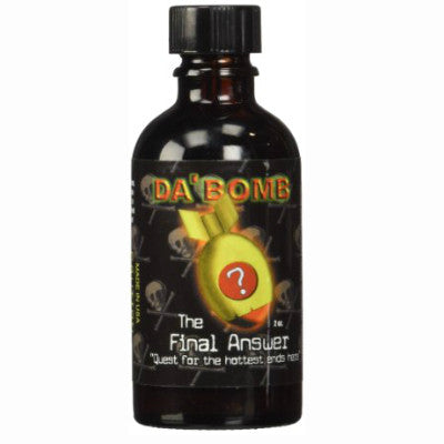 Da' Bomb The Final Answer Extract Hot Sauce