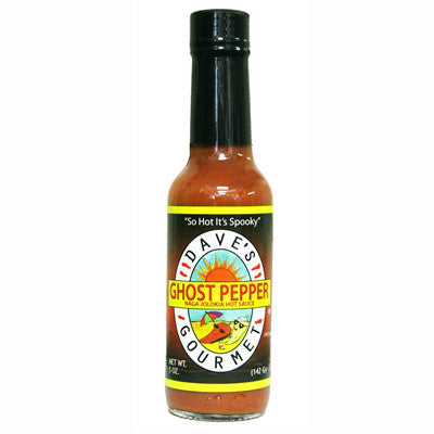 Dave's Gourmet Ghost Pepper Jolokia Sauce