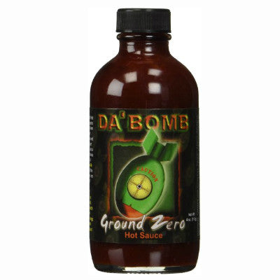 Da  Bomb Ground Zero Hot Sauce – Heat on the Rocks af20854b0dd69