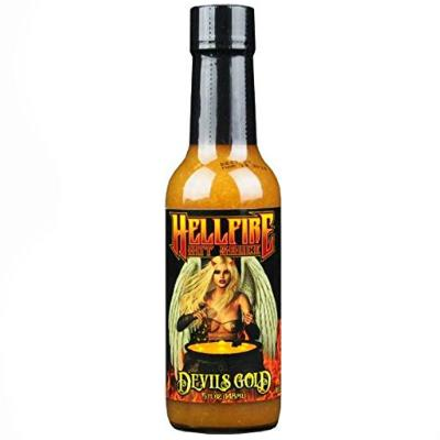 Hellfire DEVIL'S GOLD Hot Sauce